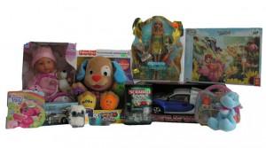 Zabawki, gry, kolorowanki